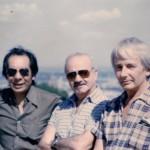 A. Piazzolla con F. Suárez y R.P.