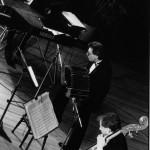 En concierto con Tango x 3 (Montreal, Festival de Jazz 1986)